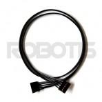 ROBOT CABLE-5P 400MM 4 Peças