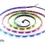 Fita de 60-LED RGB endereçável, 5V, 2m (WS2812B)