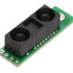 Pololu Carrier + Sensor Analógico de Distância Sharp GP2Y0A60SZLF, 10 – 150cm, 5V (02-2474-0000-000)