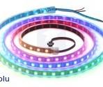 Fita de 120-LED RGB endereçável, 5V, 2m (WS2812B)