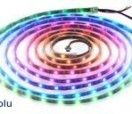 Fita de 150-LED RGB endereçável, 5V, 5m (WS2812B)
