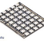 Adafruit 5×8 WS2812 LED NeoPixel Shield para Arduino