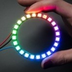 Adafruit Anel 24-LED WS2812 NeoPixel