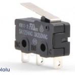 Switch com Alavanca de 16.7mm, 3 pinos, SPDT, 5A