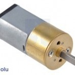 Motoredutor de Metal 35:1, 15.5Dx30L mm