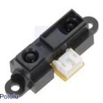 Sensor Analógico de Distância Sharp GP2Y0A41SK0F, 4-30cm (02-2464-0000-000)