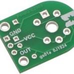 Adaptador para sensores de gás MQ da Pololu (apenas PCB)