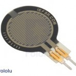 Potenciômetro circular: diâmetro 0.6″, cauda curta