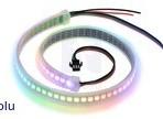 Fita de 72-LED RGB endereçável, 5V, 0.5m (WS2812B)