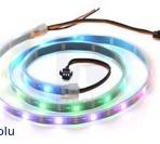 Fita de 30-LED RGB endereçável, 5V, 1m (WS2812B)