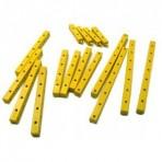 Kit Vigas 3D Termoplástico Amarelo